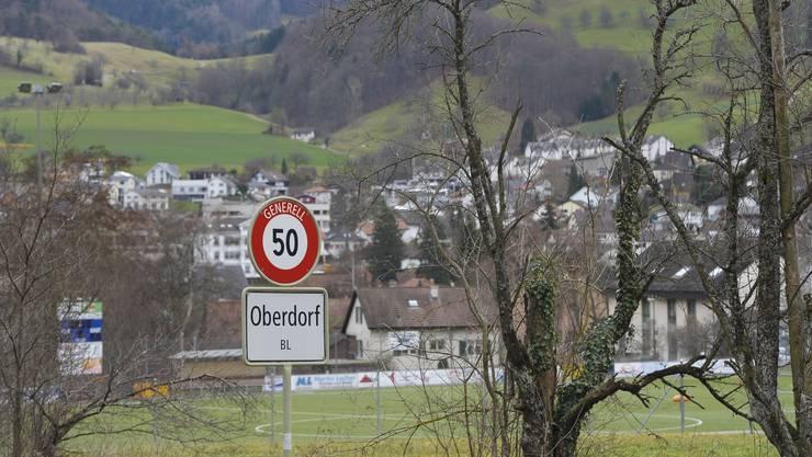 Die Gemeinde Oberdorf im Waldenburgertal. (Archivbild)