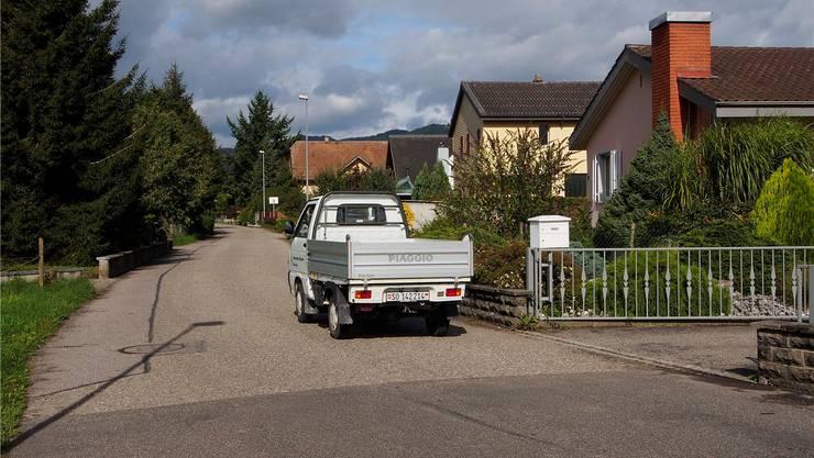 Hardstrasse: Nach Meinung der Anwohner hat es zu viel Lastwagenverkehr.