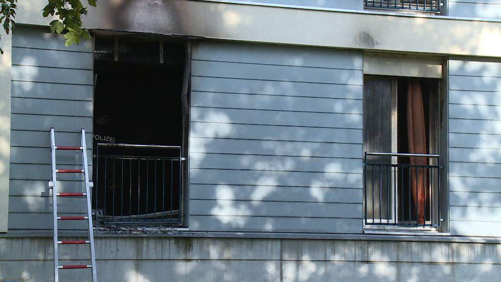 Wohnungsbrand in Schwerzenbach fordert hohen Sachschaden