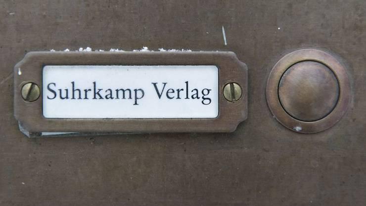Suhrkamp Verlag.