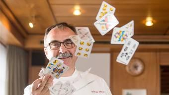 Adrian Meier vom «Sternen» Würenlingen freut sich auf die Jasser.Claudio Thoma