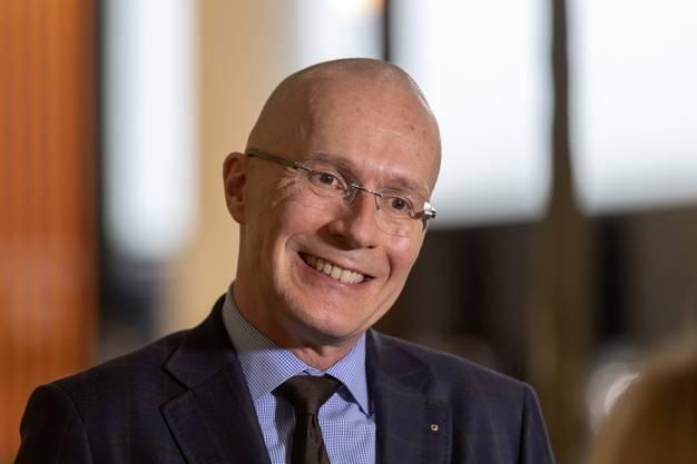 Michel Loris-Melikoff, Managing Director der Baselworld, darf 2020 erste Rückkehrer begrüssen.