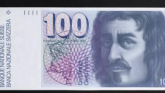 Diese 100-Franken-Note soll nur noch bis im Mai 2020 umgetauscht werden können. Das will der Ständerat. Der Bundesrat möchte den unbefristeten Umtausch ermöglichen.