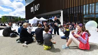 Neues Gebäude, alte Kritik: Die künftigen Lehrer in der PH in Muttenz sind immer noch unzufrieden.
