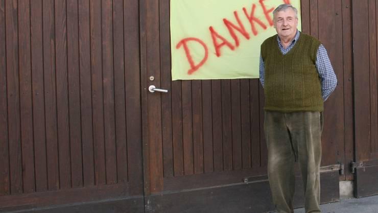 Fusions-Gegner Werner Däster:  «Ziehe deine Grenzen nicht zu weit.»
