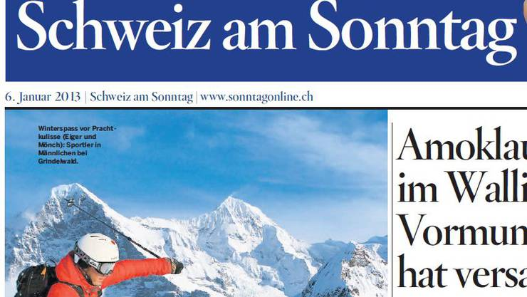 Ab 24. März erscheint die «Schweiz am Sonntag»