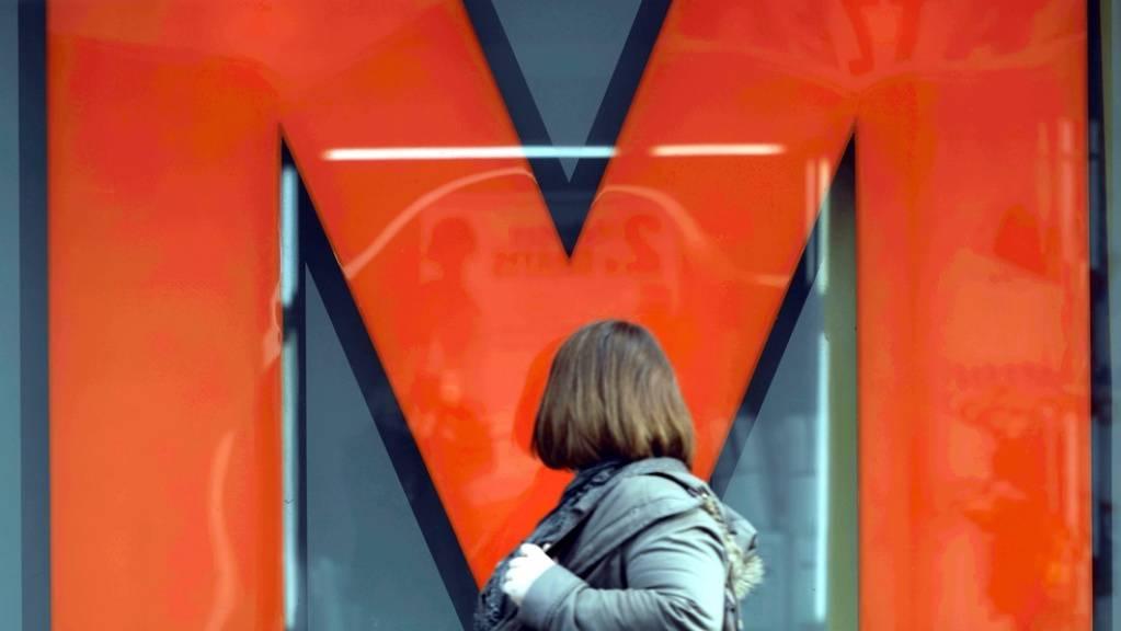 Verschlossene Türen: Wegen möglicher Einsturzgefahr bleibt eine Migros-Filiale in Genf vorerst geschlossen. (Symbolbild)