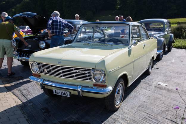 Bei Martin Fehlmanns Opel Kadett ist jedes Detail original aus den Sechzigern.
