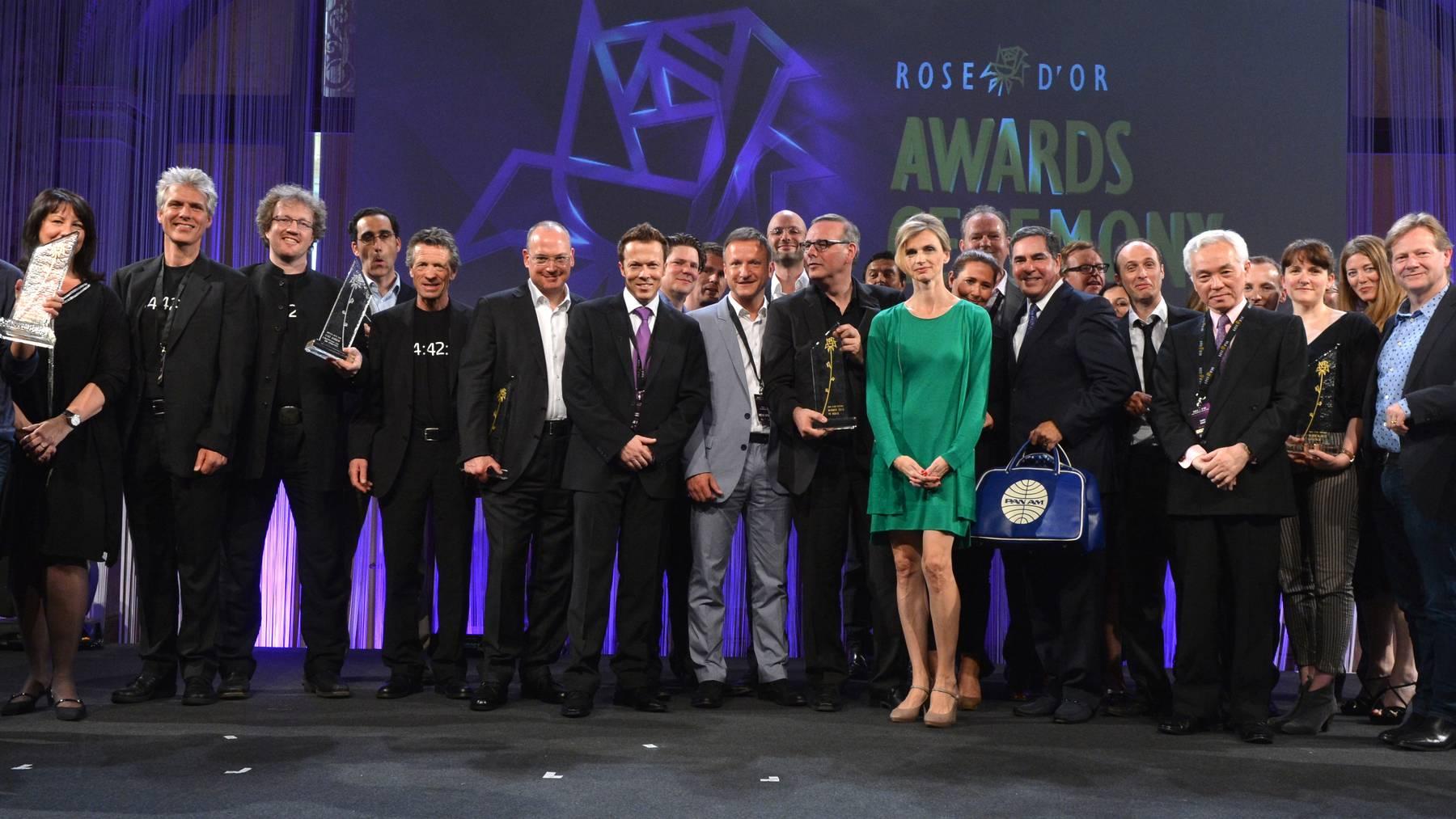 Organisatoren des Rose d'Or zufrieden