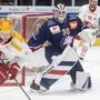 Unbezwingbar: ZSC-Goalie Lukas Flüeler blieb gegen Lausanne ohne Gegentreffer