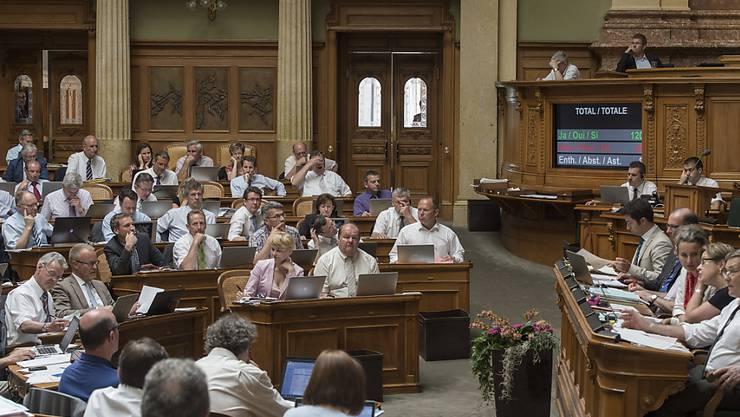 Session bedeutet nicht nur viel Arbeit für die National- und Ständeräte. (Archiv)