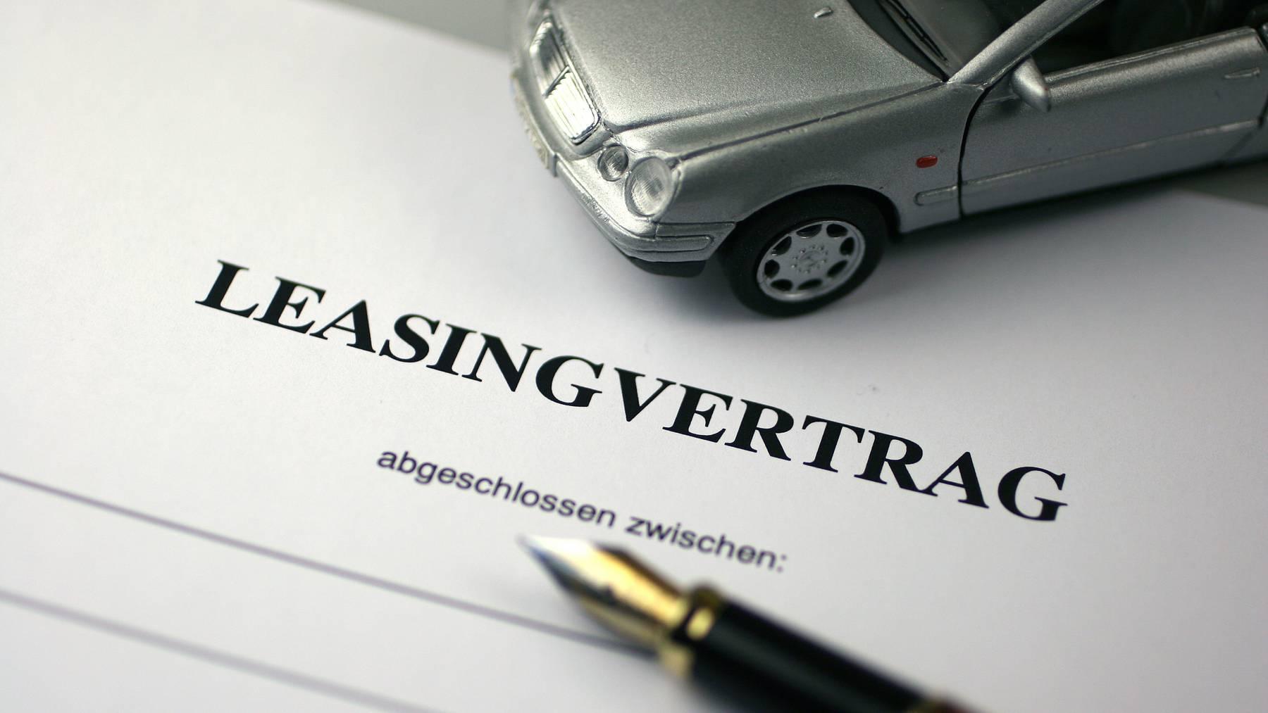 Auto-Leasing (Symbolbild)