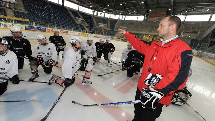 «Nur Befehle ausführen liegt mir nicht», sagt Martin Schaub (rechts). Deswegen ist er lieber Nachwuchstrainer als Assistent in der NLB. Junkov