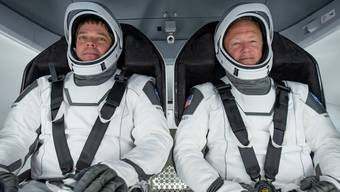 Die beiden Astronauten Bob Behnken und Doug Hurley.