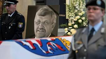 Beerdigung des Kasseler Regierungspräsidenten Walter Lübcke.