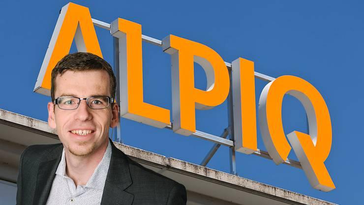 Alexander Umbricht, Einwohnerrat Grünliberale, in seiner Anfrage: «Welche Auswirkungen hätte eine Insolvenz der Alpiq auf die IBA?»