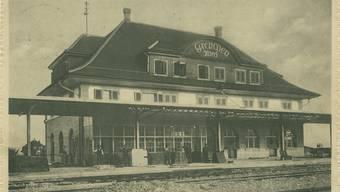 Der Bahnhof Grenchen Nord, eine wichtige Station - bekannt auch in der Literatur.