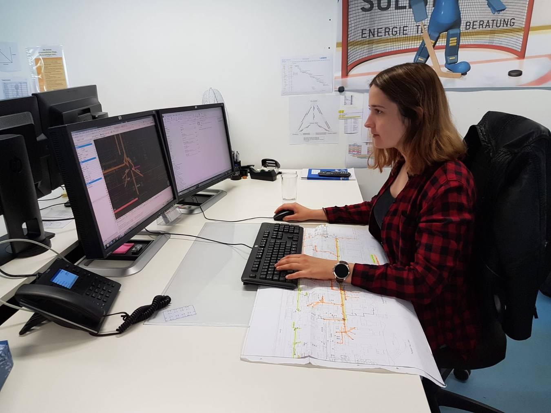 Angela Vidoni macht die Berufsmaturität Modell 3 plus.