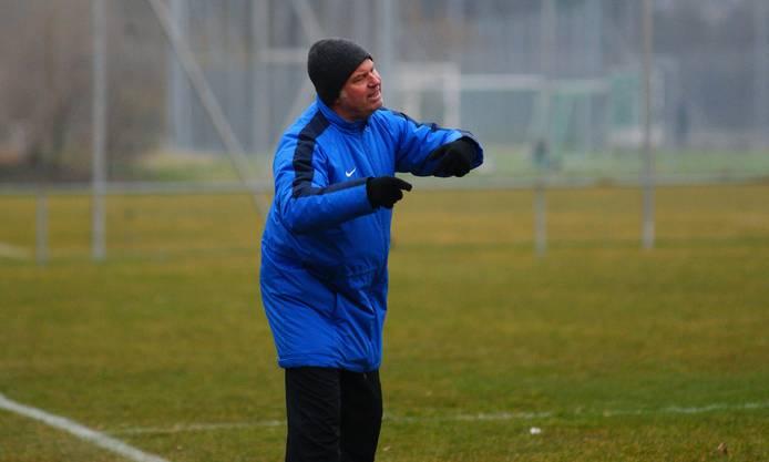 Trainer Paul Schärer lebt mit