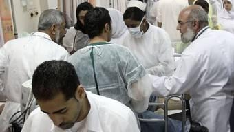 Medizinisches Personal in einem Spital in Manama (Symbolbild)