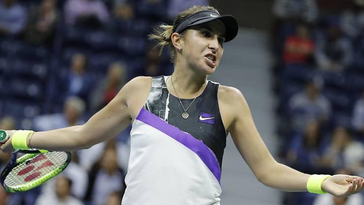 Belinda Bencic ist im Kampf um die Qualifikation für die WTA-Finals ins Hintertreffen geraten