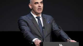 Bundesrat Alain Berset eröffnete die 54. Solothurner Filmtage mit einer frohen Botschaft aus Hollywood - und zeigte sich auch für das heimische Filmschaffen optimistisch.
