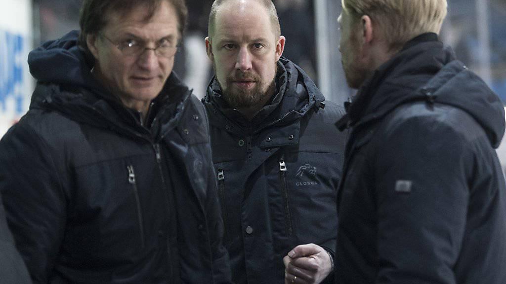 Dem Trainertrio der ZSC Lions mit Arno del Curto, Mathias Seger und Michael Liniger steht viel Arbeit bevor