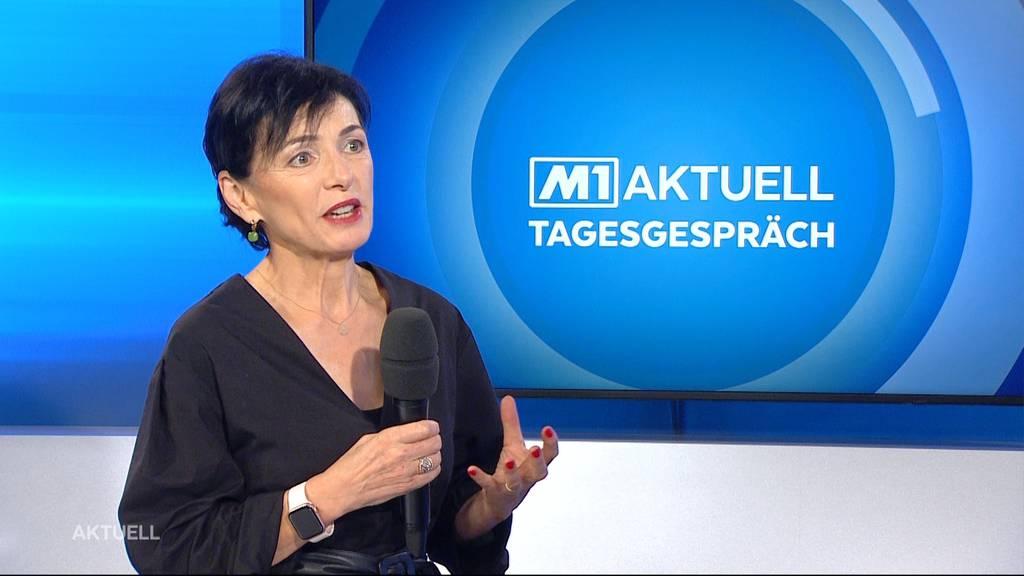 CVP-Präsidentin Marianne Binder über die Aargauer Wahlen
