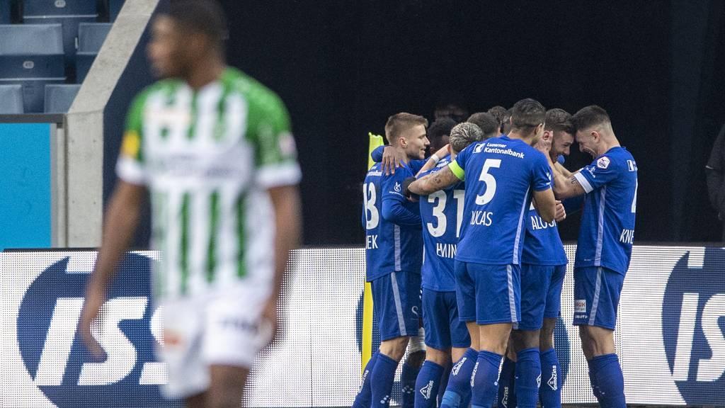 Das Spiel gedreht: Der FC Luzern gewinnt mit 4:2