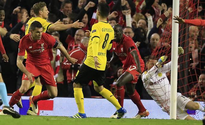 Liverpool dreht die Partie in der Nachspielzeit