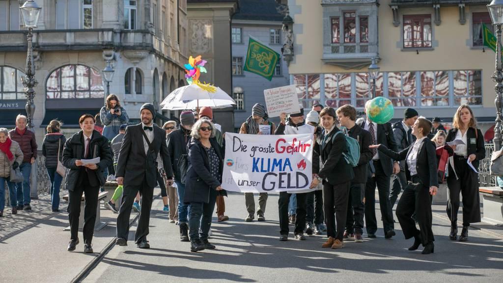 Klimaaktivisten: «Mutlos», «unzureichend», «falscher Fokus»