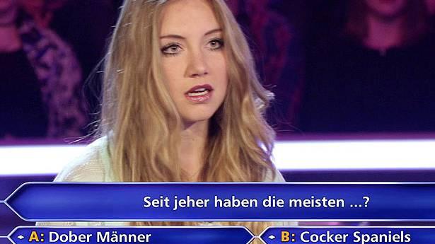 Studentin scheitert an 50 Euro Frage bei «Wer wird Millionär»