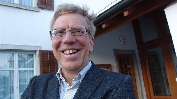 Johann Jahn (Forum Aesch) hatte 2010 am Wahltag gut Lachen, nachdem er zum Gemeindepräsidenten gewählt wurde.