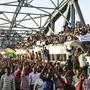 """Seit rund zwei Wochen kommt es im Sudan zu Protesten gegen den regierenden Militärrat. Am Donnerstag hat der """"Marsch der Million"""", zu dem die Opposition aufgerufen hat, begonnen (Archivbild)"""