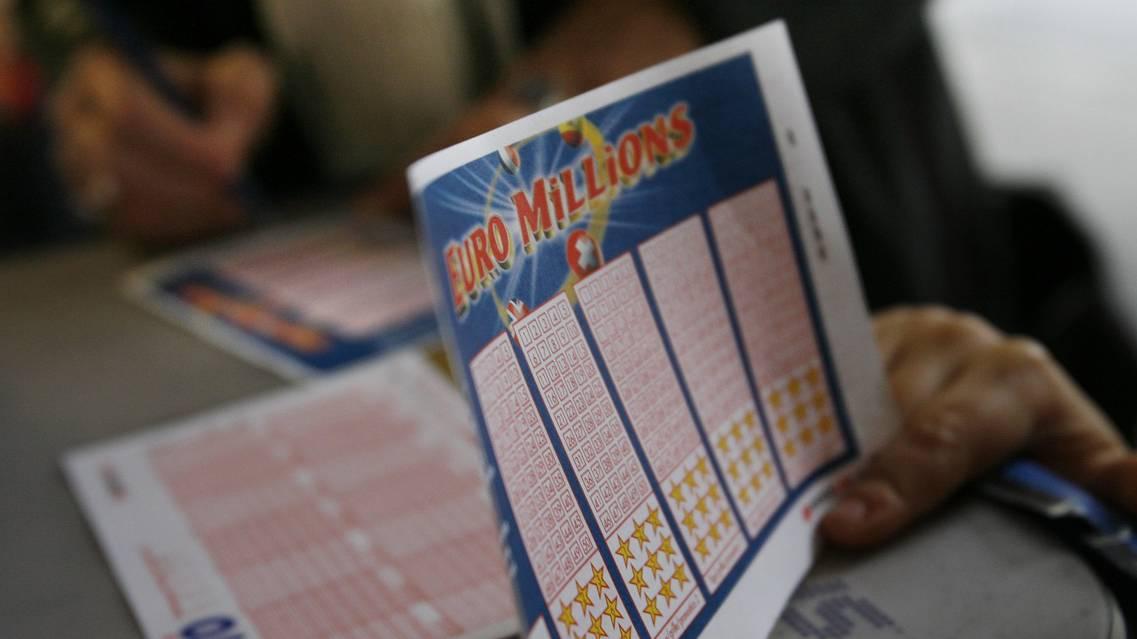 Euro Millions Lotto Schein