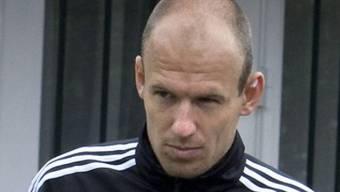 Arjen Robben fehlt Holland in ihrem Auftaktspiel gegen Dänemark