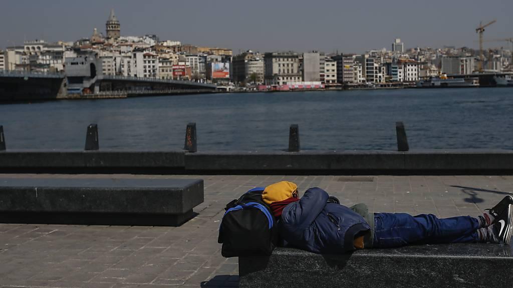Die Währung der Türkei verliert rasant an Wert: der Bosporus in Istanbul (Archivbild).