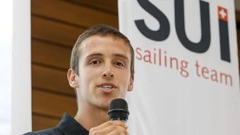 Windsurfer Mateo Sanz Lanz liegt auf Zwischenrang 20