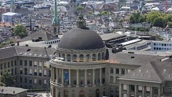 Hier fand der Mathematikwettbewerb  statt: ETH Zürich  (Archivbild)
