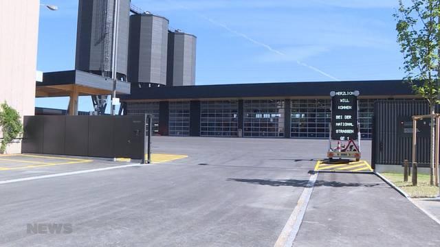 Neuer Autobahnwerkhof Wankdorf ist eröffnet
