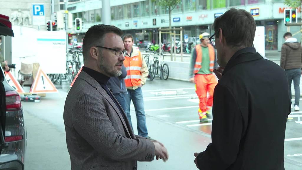 Verkehrssensoren: Stadt St.Gallen testet neue Alternative