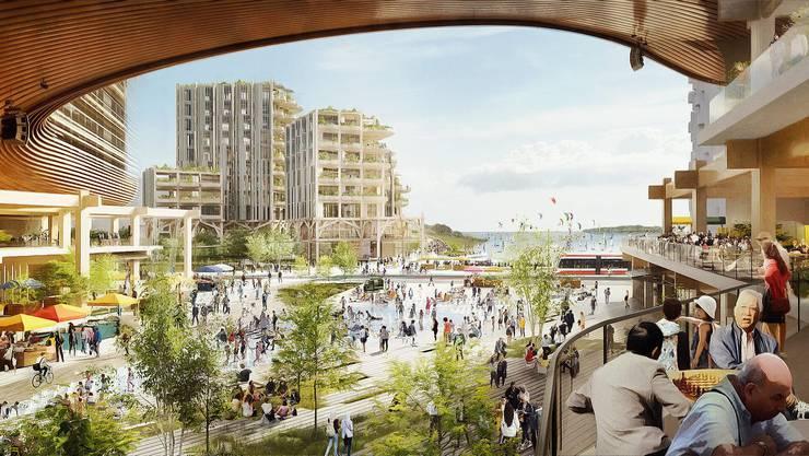 Der Traum der Stadt der Zukunft ist geplatzt: In Toronto sollte eine Smart City entstehen. Das Projekt scheiterte an den Kosten.