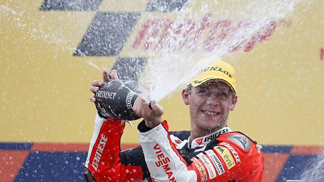 Konstanz auf höchstem Niveau: Moto2-Weltmeister Stefan Bradl
