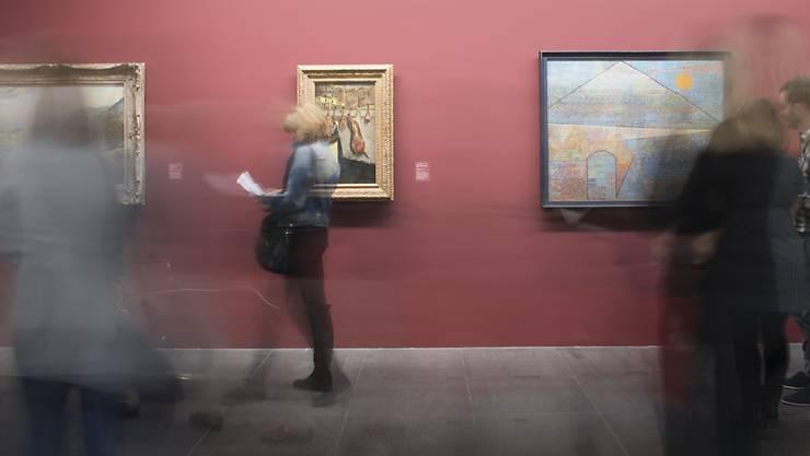 Schweizer gehen gerne ins Museum, an Konzerte oder zu Denkmälern, wie eine Umfrage des Bundes zeigt. (Archivbild)