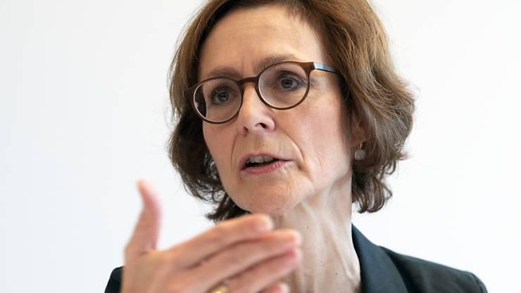 Economiesuisse-Direktorin Monika Rühl will sich nicht mehr vehement gegen Geschlechterrichtwerte für die Verwaltungsräte von grossen börsenkotierten Schweizer Unternehmen wehren. (Archivbild)