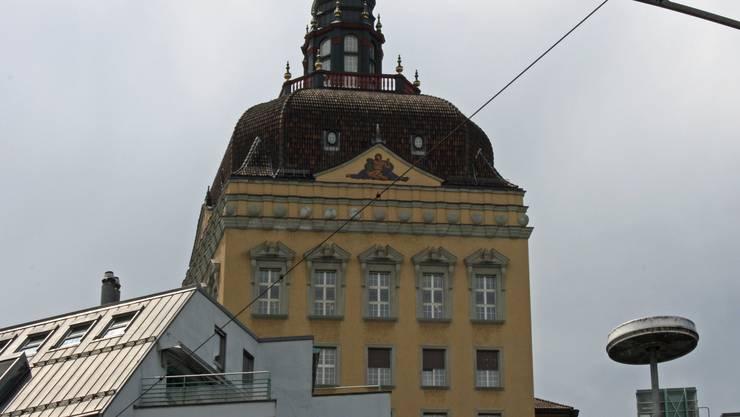 Der Hauptsitz der Suva in Luzern.