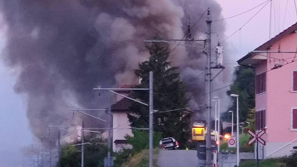Beinwil am See: Brandausbruch in Fabrikationsbetrieb
