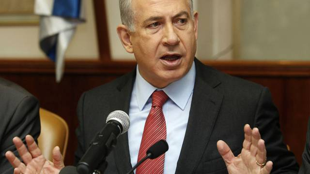 Israels Ministerpräsident Benjamin Netanjahu will weiterhin Siedlungen in palästinensischen Gebieten bauen lassen (Archiv)