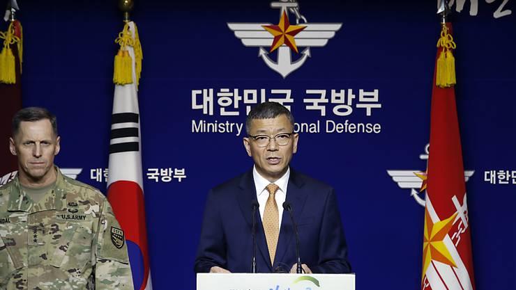 Die USA bauen in Südkorea ein modernes Raketenabwehrsystem auf, teilten beide Länder mit. Es ist eine Reaktion auf die anhaltenden Atomwaffen- und Raketentests Nordkoreas.