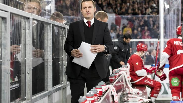Nach der Niederlage gibt es eine ausführliche Video-Analyse mit Trainer Ville Peltonen.
